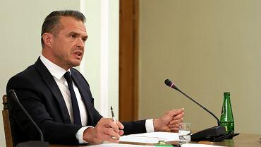 Sławomir Nowak na przesłuchaniu komisji śledczej w sprawie Amber Gold