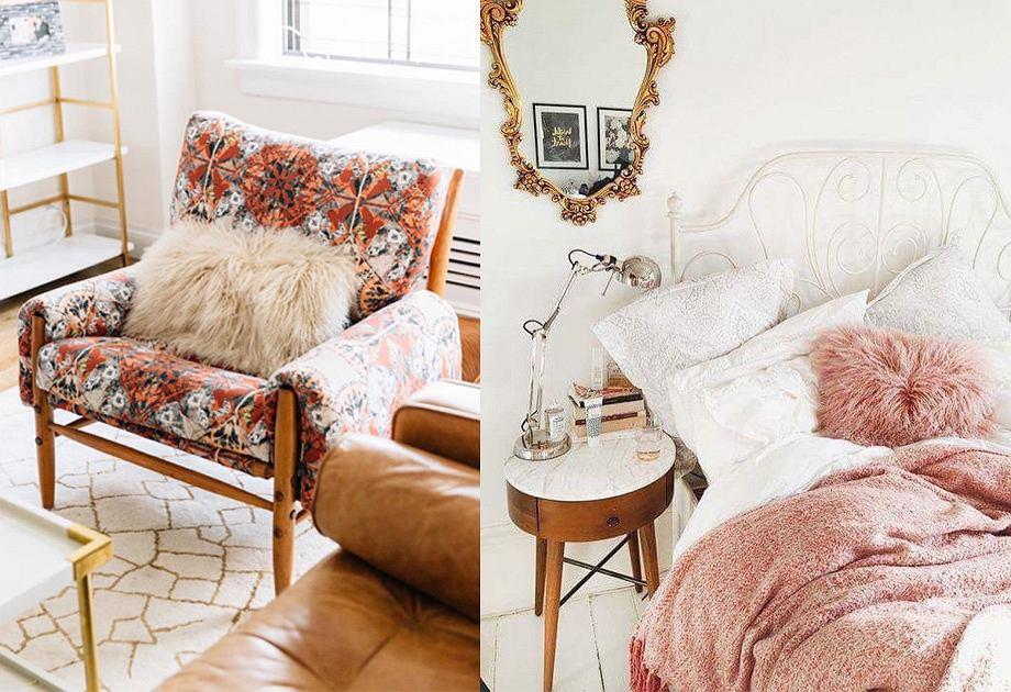 Futrzane poduszki i koce