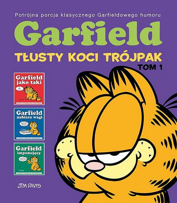'Garfield. Tłusty koci trójpak', Jim Davis