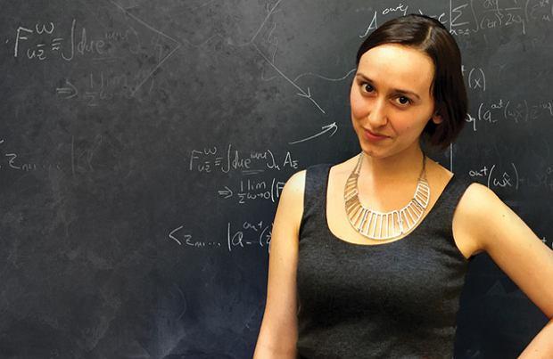 Sabrina Gonzalez Pasterski porównywana jest do Alberta Einsteina