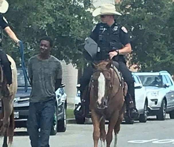 Teksas. Zatrzymanie czarnoskórego mężczyzny przez policję