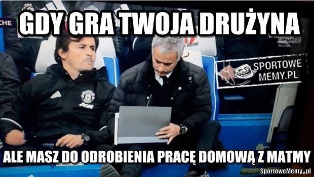 Zdjęcie numer 7 w galerii - Co powiedział Mourinho Conte po końcowym gwizdku? Portugalczyk wyśmiewany [MEMY]