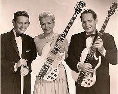 Les Paul: człowiek, który dał nam rocka, logo z klasą, Gene Paul, Mary Ford i Les Paul w połowie lat 60tych