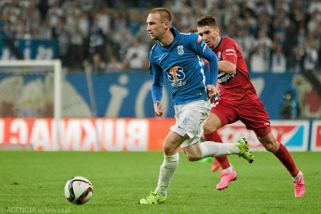Lech Poznań - Podbeskidzie Bielsko-Biała 0:1. Szymon Pawłowski