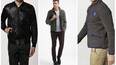 Przejściowe kurtki dla panów