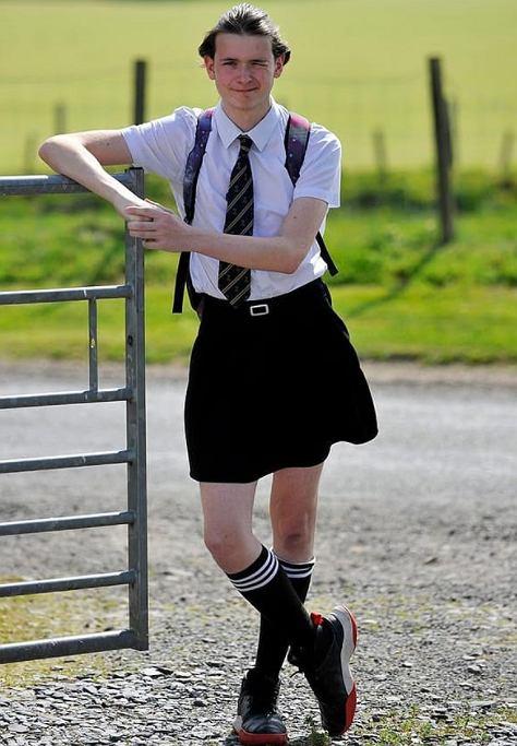 Shane Richardson ma 16 lat, mieszka i uczy się w południowo-zachodniej Szkocji.