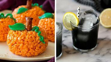 Przekąski i napoje na imprezę Halloween nie musza być kaloryczne i pełne sztucznych barwników