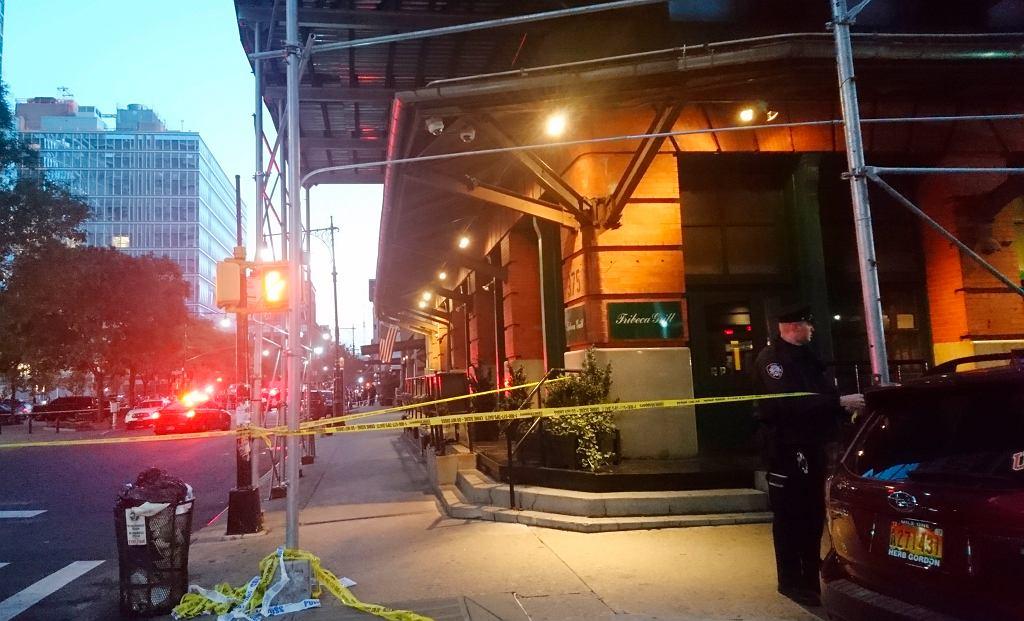 Akcja policji w Nowym Jorku 25 października. Znaleziono tam podejrzaną paczkę