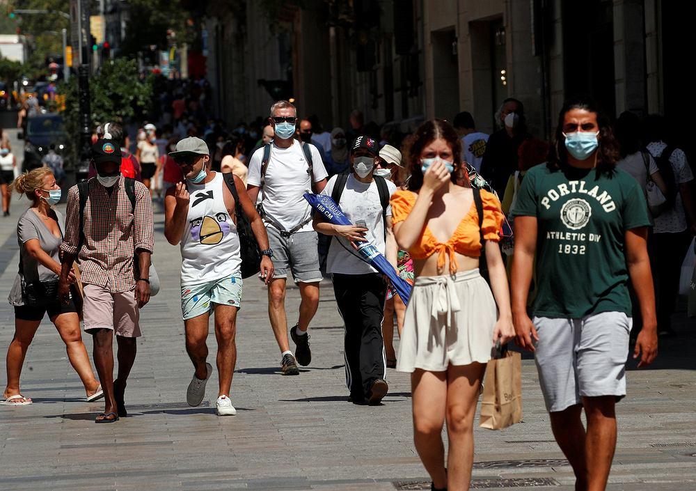 W Barcelonie trzeba nosić maseczki