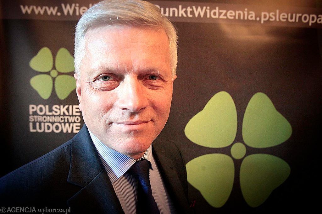 Poseł Koalicji Polskiej-PSL Andrzej Grzyb.
