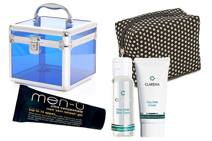 Kosmetyczki i kosmetyki w wersji mini