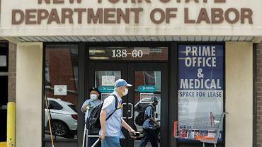 Stany Zjednoczone. Liczba nowych wniosków o zasiłek dla bezrobotnych spadła do poniżej 1 mln.