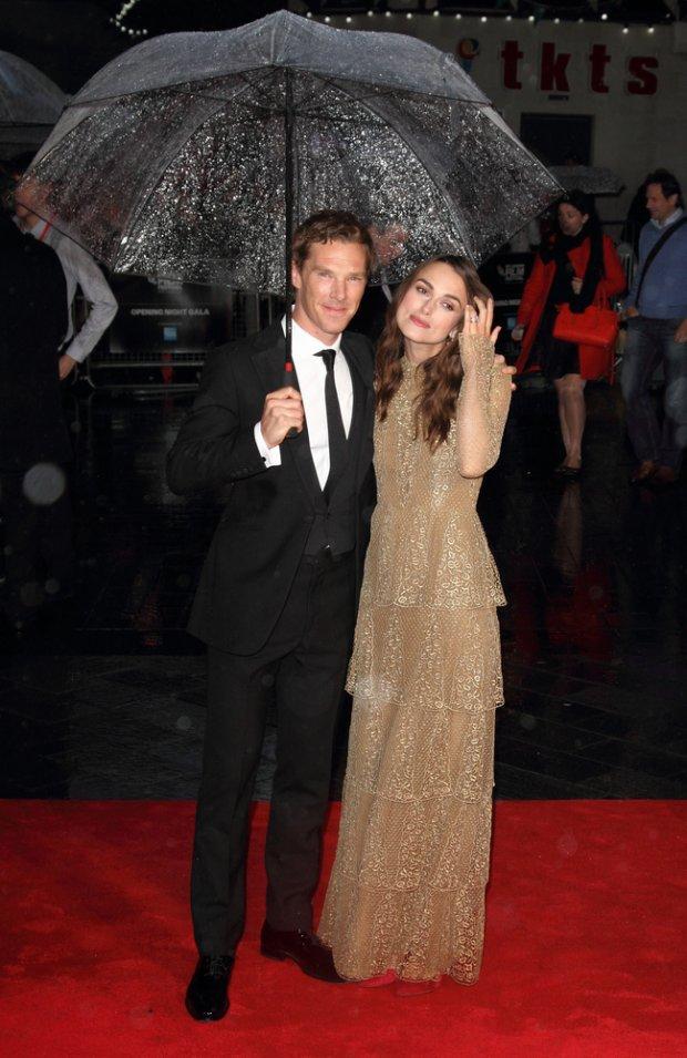 Benedict Cumberbatch i Keira Knightley