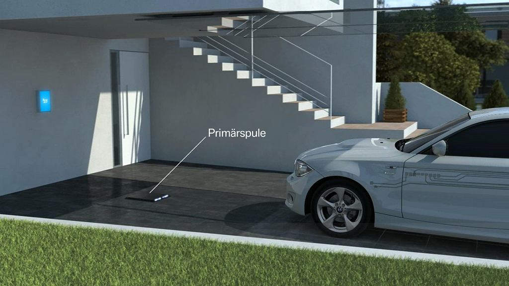 System indukcyjnego ładowania aut elektrycznych i hybryd plug-in