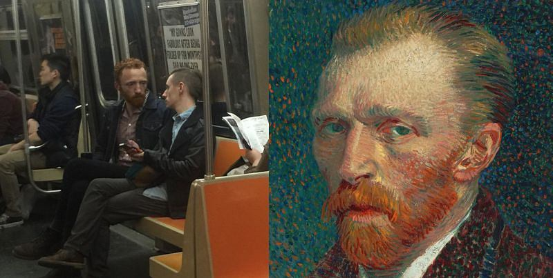 Van Gogh w metrze