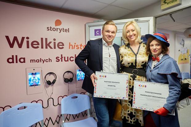 Podziękowania. Michał Szolc, Patrycja Piekutowska, Magdalena Boczarska