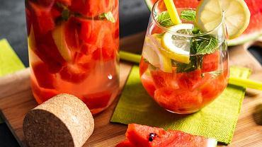 drink z arbuzem, zdjęcie ilustracyjne