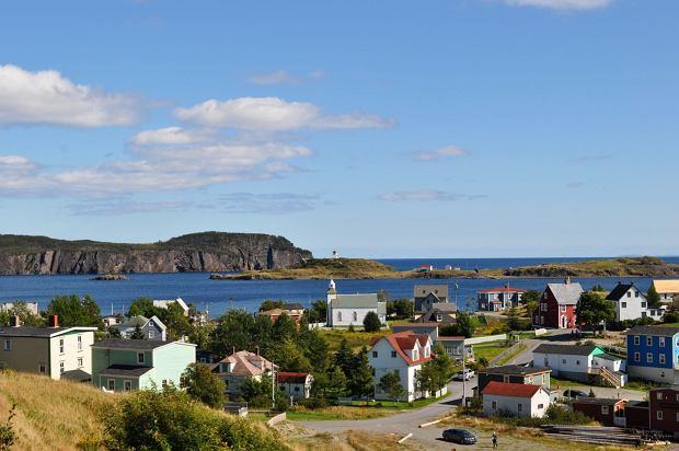 Miasteczko Dildo na wybrzeżu Kanady / Fot. Shutterstock