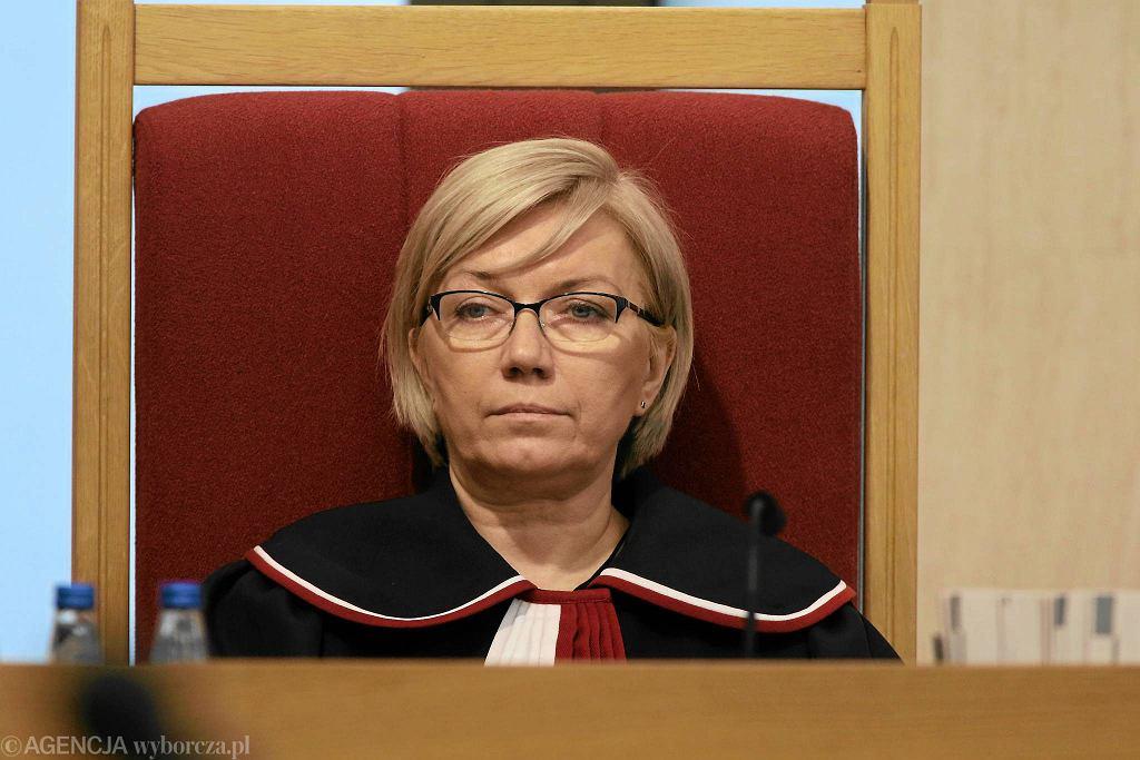 Prezes Trybunału Konstytucyjnego z nadania PiS Julia Przyłębska