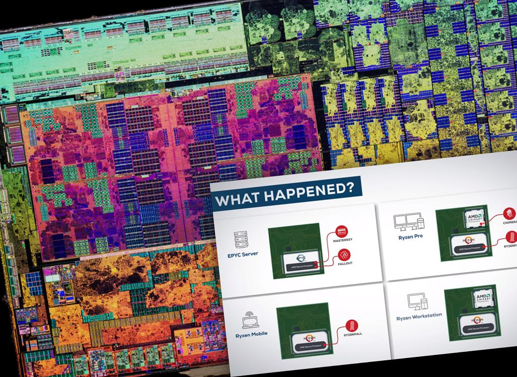 Firma CTS Labs twierdzi, że w niektórych procesorach AMD są luki bezpieczeństwa
