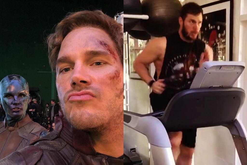 Chris Pratt - dokładny plan treningowy