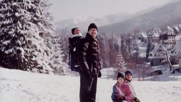 Bronisław Komorowski z dziećmi