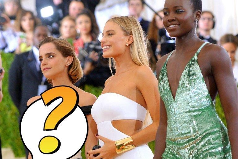 Emma Watson, Margot Robbie i Lupita Nyong'o - eko muzy domu mody Calvin Klein