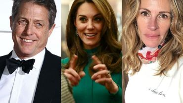 Hugh Grant, Kate Middleton, Julia Roberts