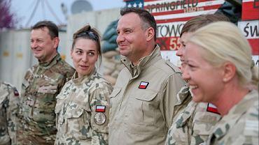 Prezydent Andrzej Duda w Afganistanie