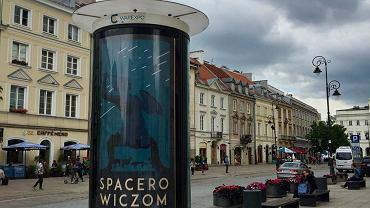 Warszawa dziękuje 'spacerowiczom'