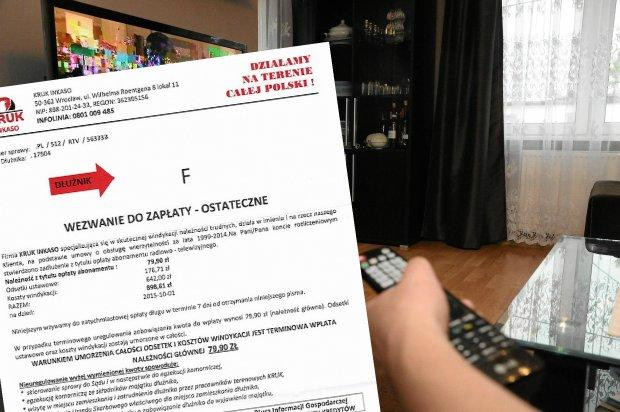 Dostałeś od Kruka wezwanie do zapłaty zaległego abonamentu RTV? Uważaj, to oszustwo