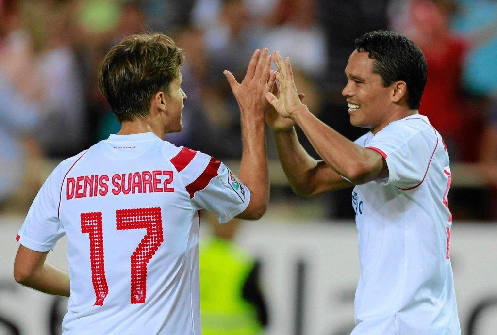 Denis Suarez w barwach Sevilli