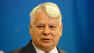 7Konferencja prasowa z udzialem Bronislawa Komorowskiego