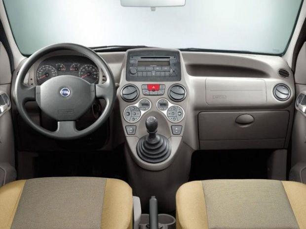 Fiat Panda - wnętrze