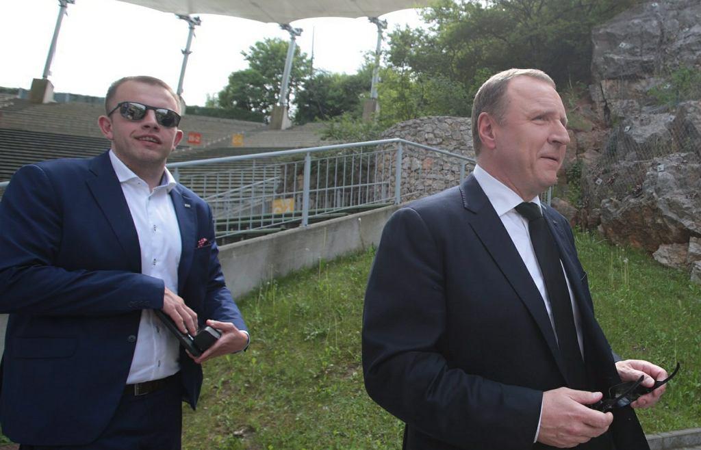 Jacek Kurski i Paweł Gajewski