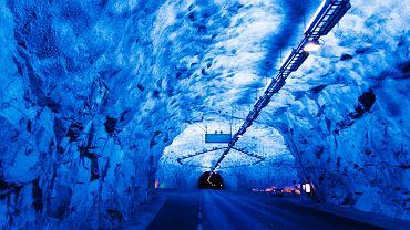 L?rdal (L?rdalstunnelen) - Norwegia - 24,51 km. Zdjęcie ilustracyjne