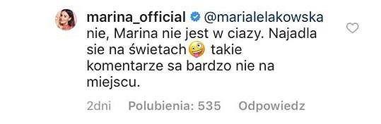 Komentarz Mariny Łuczenko-Szczęsnej