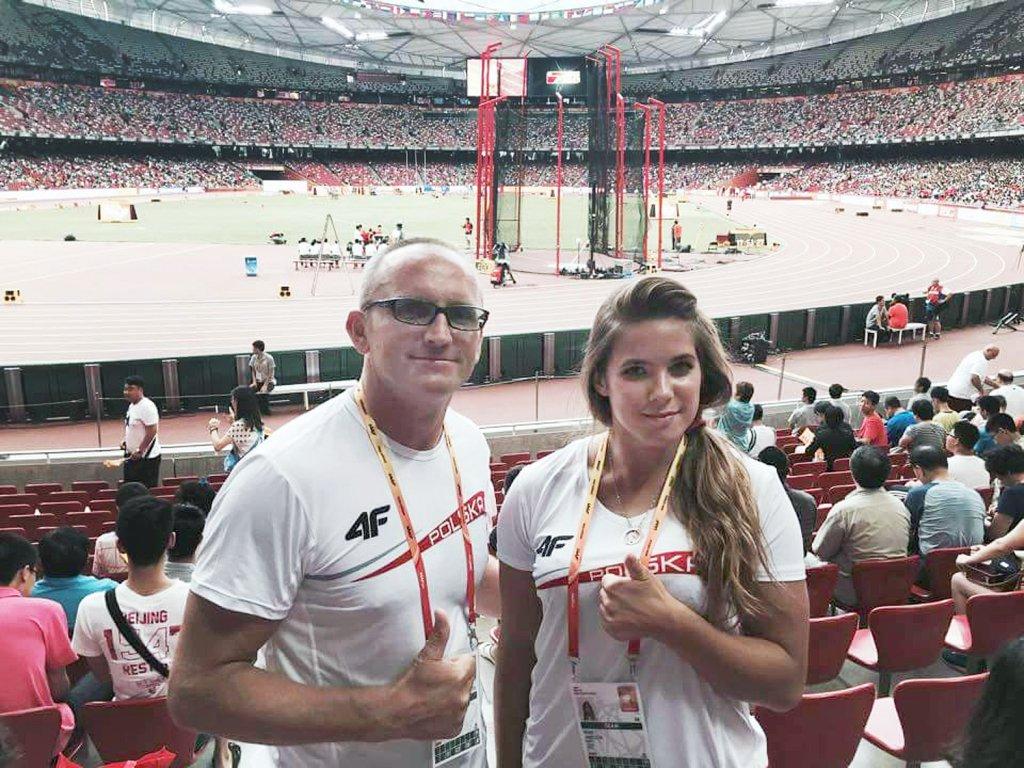 Karol Sikorski i Maria Andrejczyk