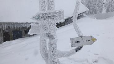Zima na Pilsku (Beskid Żywiecki)