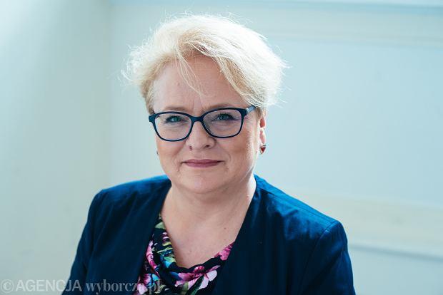 Dr hab. Katarzyna Kłosińska - językoznawczyni, pracownik naukowy na Wydziale Polonistyki Uniwersytetu Warszawskiego, przewodnicząca Rady Języka Polskiego przy Prezydium PAN