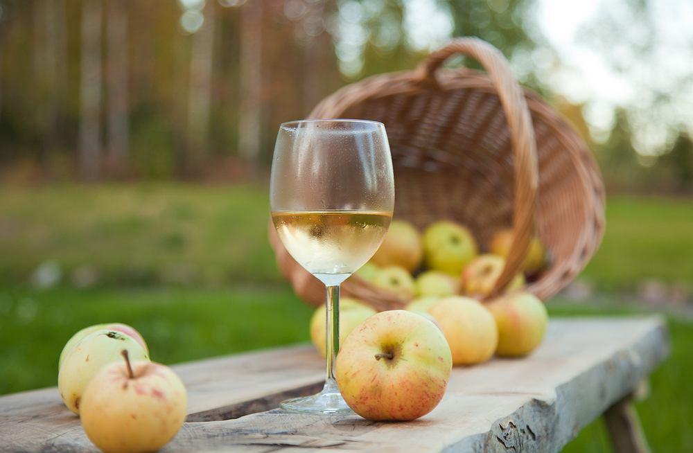 Wino jabłkowe
