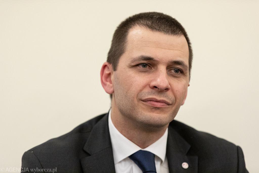Dyrektor Liceum Ogólnokształcącego imienia Śniadeckiego Marcin Konrad Jaroszewski