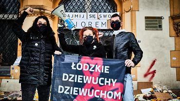 Strajk kobiet w Łodzi. 'Aborcja stała się symbolem walki o wolność' - mówią koordynatorzy