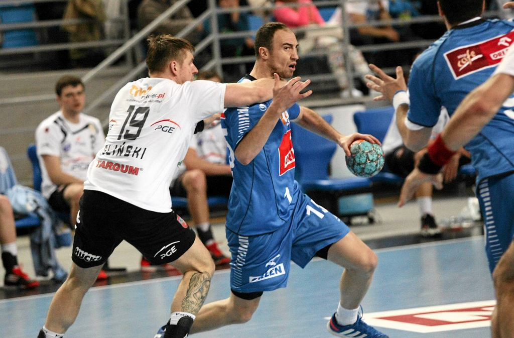 Ćwierćfinał mistrzostw Polski, Orlen Wisła Płock - Stal Mielec 36:20