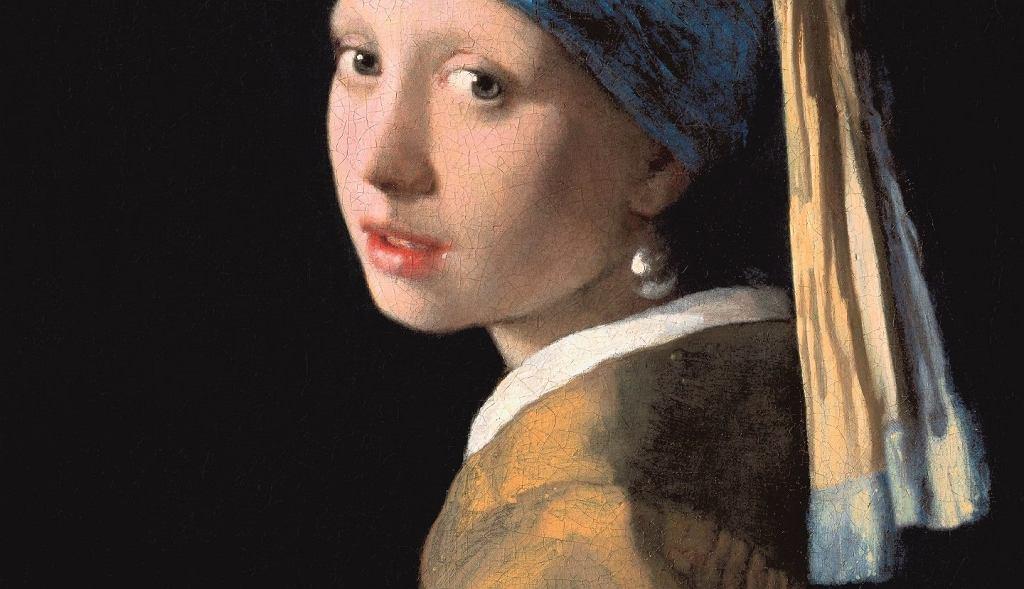 Dziewczyna z perłą autorstwa Johannesa Vermeera