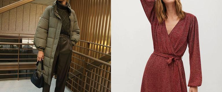 Black Friday 2020 w Mango. Sukienki na święta, puchowe kurtki, ciepłe swetry kupisz nawet 50% taniej!