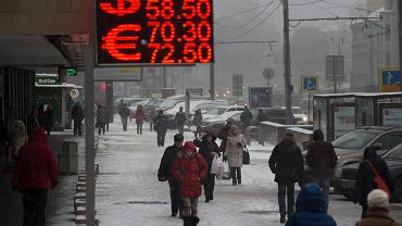 Rekordowo niski kurs rubla
