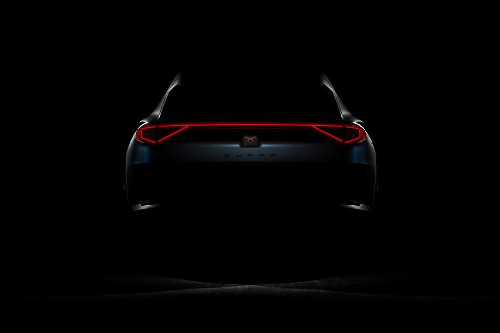 Nowy model Cupra (teaser)
