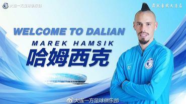 Marek Hamsik zawodnikiem Dalian Yifang