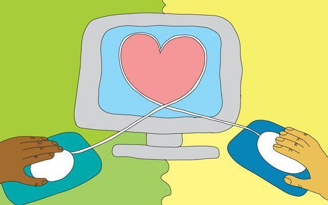Związki, które zaczęły się od spotkania w internecie, nie są już rzadkością.